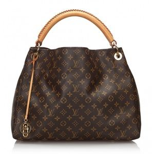 Authentic Louis Vuitton Artsy MM Brwn Monogram Bag